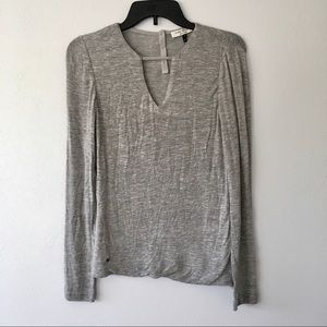 Halston - light grey Long sleeve top